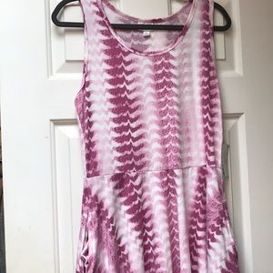LuLaRoe NWT Nicki dress with pockets sleeveless